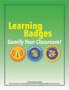 """What do Foursquare, video games, and the Boy Scouts  Girl Scouts have in common, and how can their """"system"""" increase motivation and engagement in your classroom? Click here to find out!"""