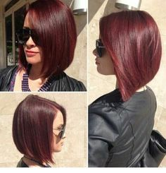In a perfect world, this would be the cut and color of my hair right now.