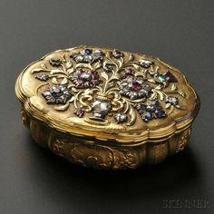 Jewelry box from 1900's! Amazing!