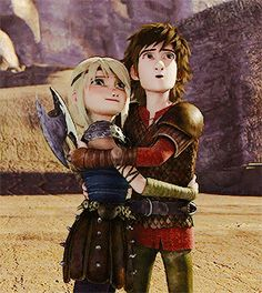 Hiccup and Astrid <3