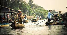 Chau Doc Floating Market, An Giang, Vietnam #SaffronTravel #Vietnam #MICE #Travelmediate