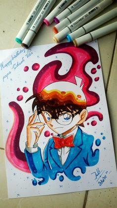 Detective Conan Shinichi, Gosho Aoyama, Detective Conan Wallpapers, Itachi, Naruto, Sad Anime Quotes, Cute Animal Photos, Magic Kaito, Drawing People