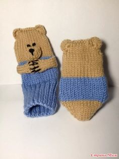 "Носочки ""веселые медвежата"" - Вязание - Страна Мам"