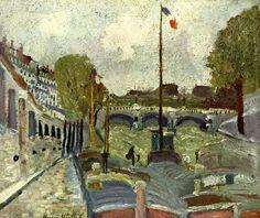 utrillo paintings | Nine - Maurice Utrillo - WikiPaintings.org