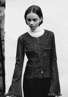 50's Polo Inka Williams, styled by Ella Murphy Stylist www.standardissue.co.nz Inka Williams, Comedians, Beautiful Pictures, Stylists, Leather Jacket, Glamour, Rafael Nadal, Actors, Female