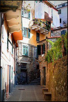 Corniglia, Cinque Terre, Italy by Dott. Lilith, via Flickr