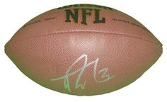 Trent Richardson Autographed NFL Wilson Composite Football, Cleveland Browns, Alabama Crimson Tide, Proof Photo by Southwestconnection-Memorabilia. $129.99. This is a Trent Richardson autographed NFL Wilson composite football. Trent has signed the football in silver paint pen for us. Check out the photo of Trent signing for us. Proof photo is included for free with purchase. Please click on images to enlarge. 1
