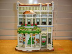 Lefton Colonial Village 1996 Variety Store House 10827 Lefton Lighted Houses   eBay