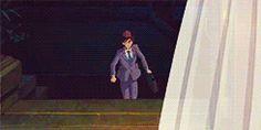 Jiro's rush to Nahoko after her hemorrhage
