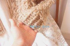 "crochelinhasagulhas: Casaco de crochê de ""régua"""