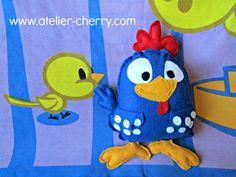 Tutorial and Pattern to make chicken plushie...darling...