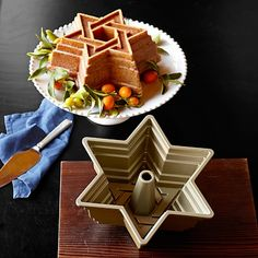 Nordic Ware Star of David Bundt Cake Pan- Williams Sonoma
