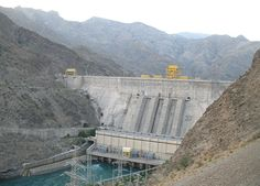 A hydroelectric and irrigation dam on the Naryn River in the Jalal-Abad Province of Kyrgyzstan, this dam is the shortest on our list at 215 meters high