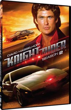 Knight Rider - K.I.T.T. Roars Back Into Stores Soon with Re-Releases of Season 1, 2