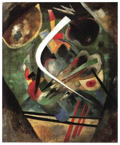 Wassily Kandinsky, White Line, 1920