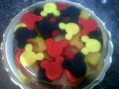 Gelatina Mickey Mouse!!!