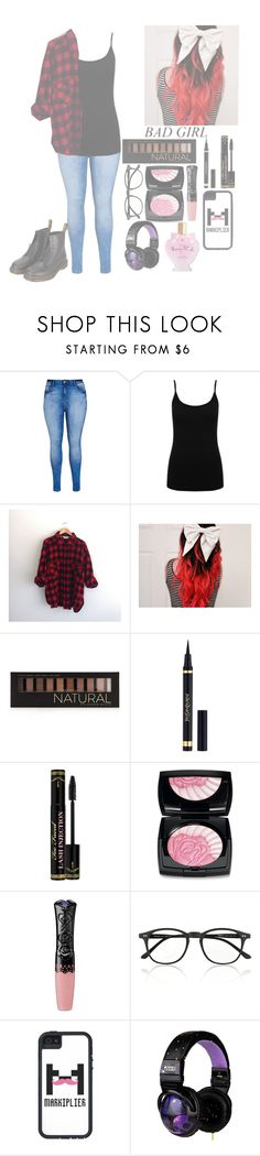 """♡🌸Fem markiplier🌸♡"" by squishy-bubble-tea ❤ liked on Polyvore featuring City Chic, M&Co, Woolrich, Forever 21, Yves Saint Laurent, Too Faced Cosmetics, Lancôme, Anna Sui, Illesteva and Skullcandy"