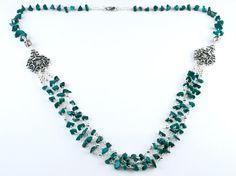 Collar Flora Rosales por PetraStoneJoyas en Etsy,