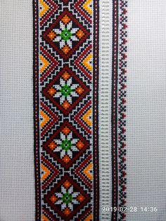 Cross Stitch Rose, Cross Stitch Borders, Cross Stitch Flowers, Cross Stitch Patterns, Ribbon Embroidery, Cross Stitch Embroidery, Embroidery Patterns, Cross Stitch Geometric, Palestinian Embroidery