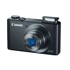 Amazon.com: Canon PowerShot S110 12.1 MP Digital Camera with 5x Wide-Angle Optical Image Stabilized Zoom (Black): CANON: Camera & Photo