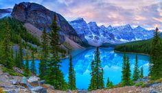 Banff National Park Canada | moraine banff national park canada canada banff mountain rock lake ...