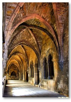 Cloisters of the main Cathedral, Sé de Lisboa #Portugal by Vítor Ribeiro on 500px