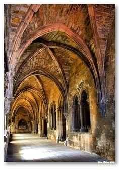 Cloisters of the main Cathedral, Sé de Lisboa #Portugal by Vítor Ribeiro on 500px