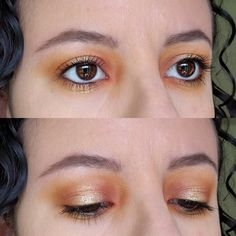 Sunset on the Water eye look - CCW!