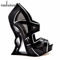 New arrival: Strange Heel Blac... Buy it now: http://simplysonya731.net/products/strange-heel-black-women-summer-peep-toe-gladiator-sandals?utm_campaign=social_autopilot&utm_source=pin&utm_medium=pin