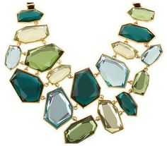 """Joan Rivers bib necklace from Joan Rivers' QVC line. Part of her """"Boardroom Collection"""" of jewelry"""