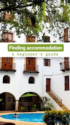 Searching for accommodation can be challenging with so many different options out there. Here is how to find the right accommodation for you. Searching, Travel Tips, Challenges, Mansions, House Styles, Ideas, Search, Travel Advice, Luxury Houses