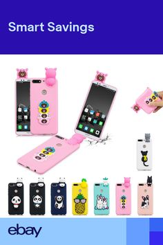 TPU Protective Cute Slim Shockproof Case Soft Back Cover for Huawei Y6 Y7  2018 Mobile Phones 3a1829cc26e2