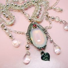 Galadriel elven inspired fantasy necklace by...