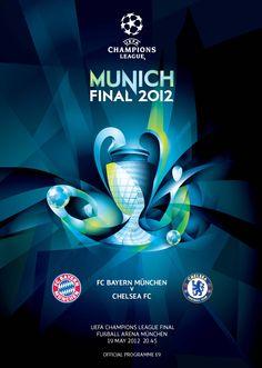 UEFA Champions League Final 2012, Official programme