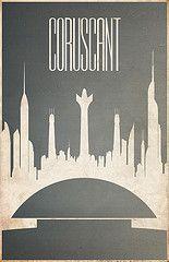 Star Wars Planet Fan posters in Minimalist style.