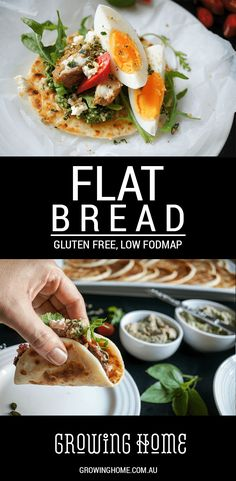 These gluten free flatbreads are easy to roll and shape, and are great served as a naan, roti, chapati or pita bread.