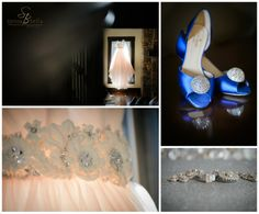 greenville sc wedding photographers photographer weddings at cliffs at glassy chapel, blue wedding shoes, something blue, pink wedding gown with details floral belt, pink wedding gown with tulle skirt, engagement rings