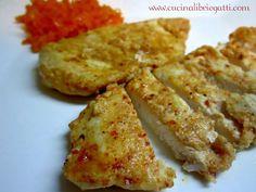 Pollo allo yogurt ed harissa con carote all'olio di argan