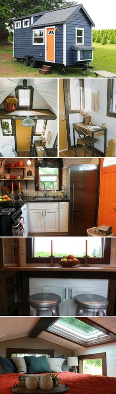 The Craftsman tiny house from Tiny Heirloom