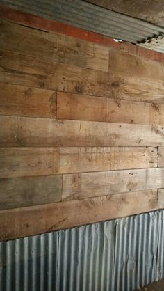 Barn Tin Wall On Pinterest Barn Tin Tin Walls And