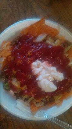 My Dorotios Nacho Taco Salad
