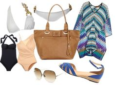 """""""Updated - Beach Chic"""" by lydiabe ❤ liked on Polyvore"""