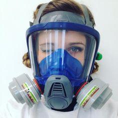 Gas mask Twinkle Gas Mask Girl, Half Mask, Respirator Mask, Lady Biker, Women Life, Dieselpunk, Jennifer Aniston, Survival Gear, Masquerade