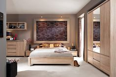 Bambusz padló természetes elemek lágy színek - a hálószoba divat 2016-ban visszatér a természetességhez