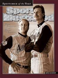 Randy Johnson and Curt Schilling - AZ Diamondbacks
