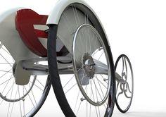 Hot Rod of a Wheelchair | Yanko Design