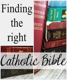 Which Catholic Bible Should I Use