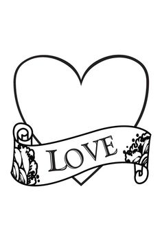 free christian coloring pages of a heart | Religious Clip Art | welcome to the christian clipart ...