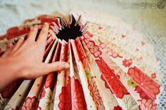 Chic Paper Rosette Backdrop Tutorial | How Does She...