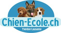 logo chien-ecole.ch Lausanne, Canton, Education Canine, Week End, Signs, Animals, Logo, Palms, Dog Owners